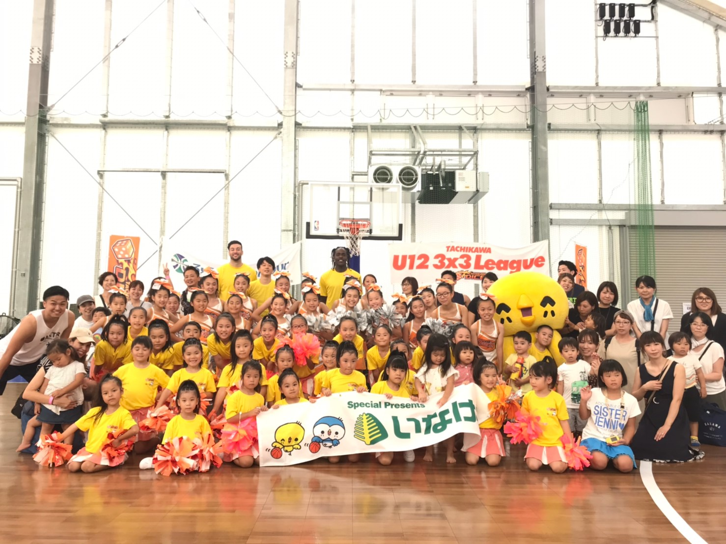 TACHIKAWA U12 3×3 LEAGUE ROUND.5 INAGEYA Special presents