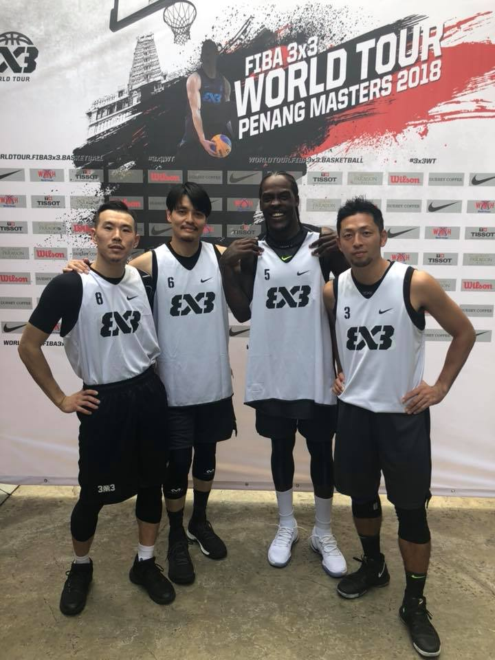 FIBA 3×3 World Tour Penang Masters  惜しくも予選敗退…