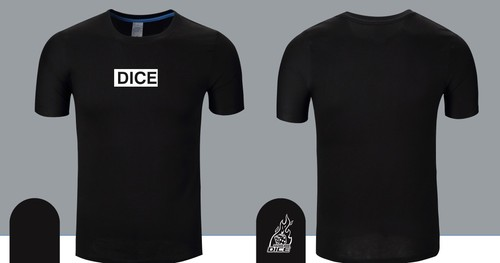DICE LOGO T- Shirt Black