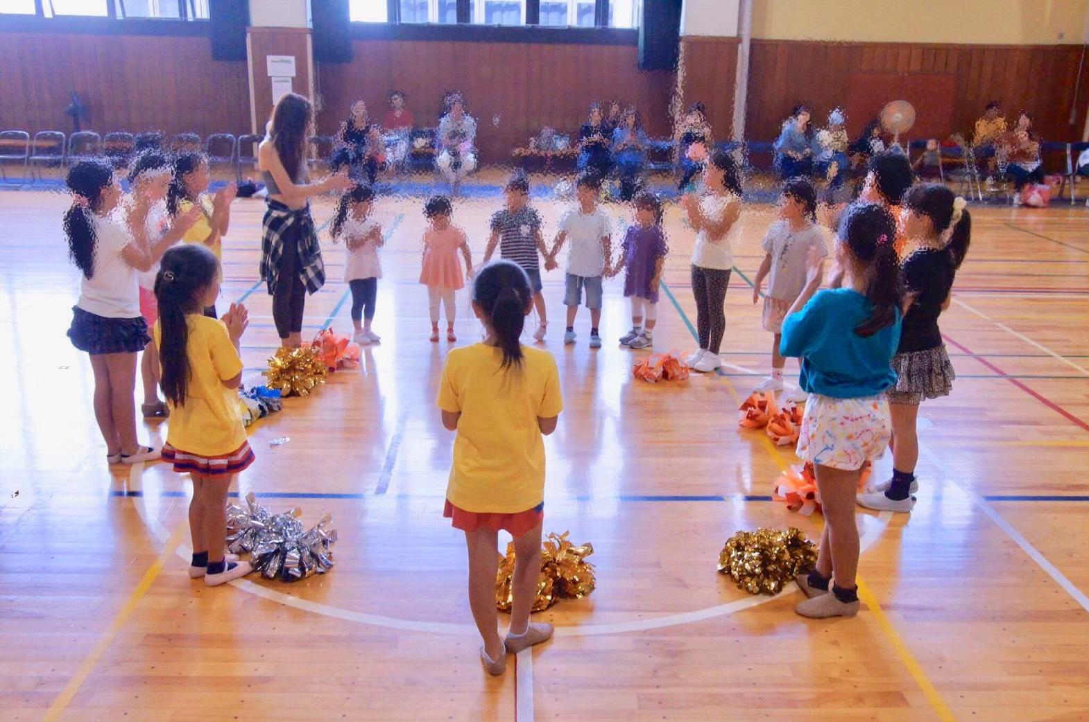 チアダンススクール 夏休み無料体験実施日のご案内