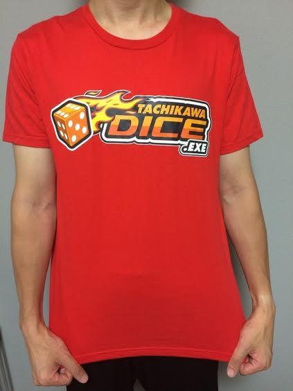 TACHIKAWA DICE Tシャツ