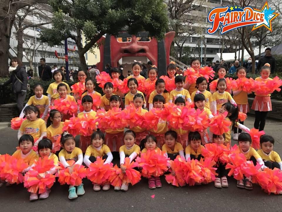 Fairy DICEがオニ公園イベントに登場