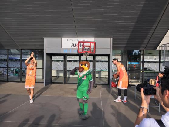 東京ヴェルディ・ホームゲーム訪問・PR活動